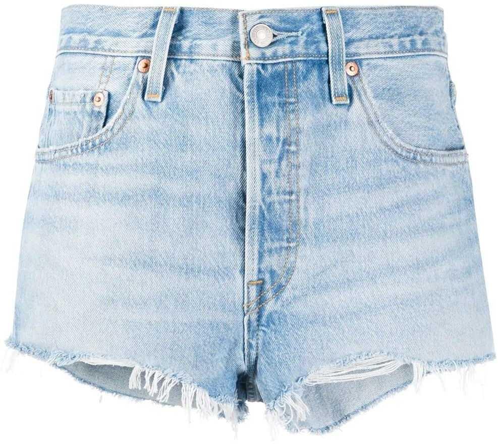 Levi`s® Cotton Shorts BLUE