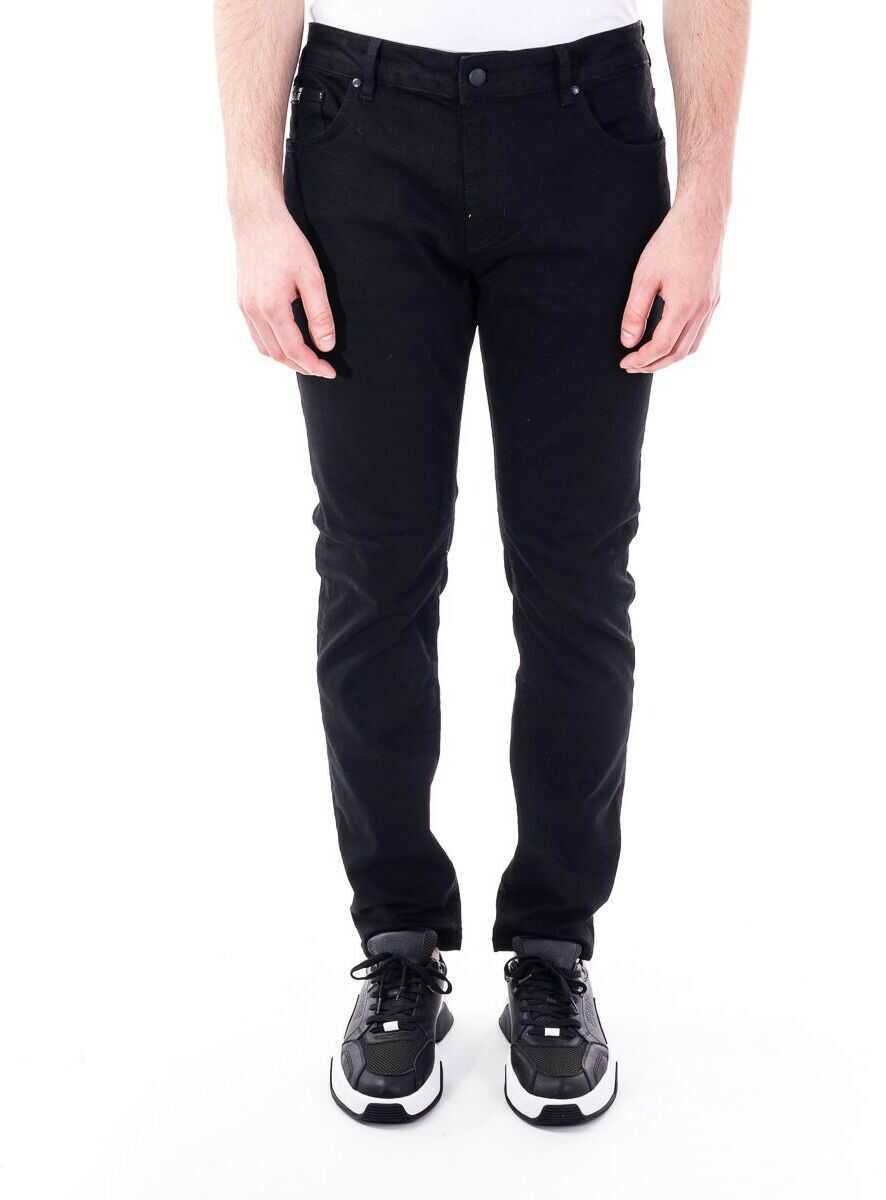 Versace Jeans Cotton Jeans BLACK