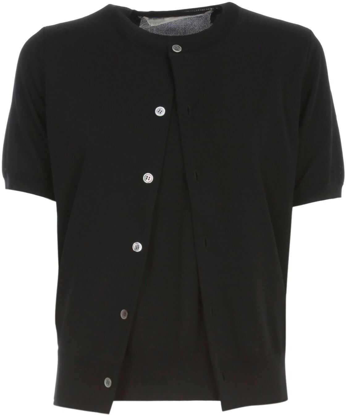 Comme des Garçons Cotton T-Shirt BLACK