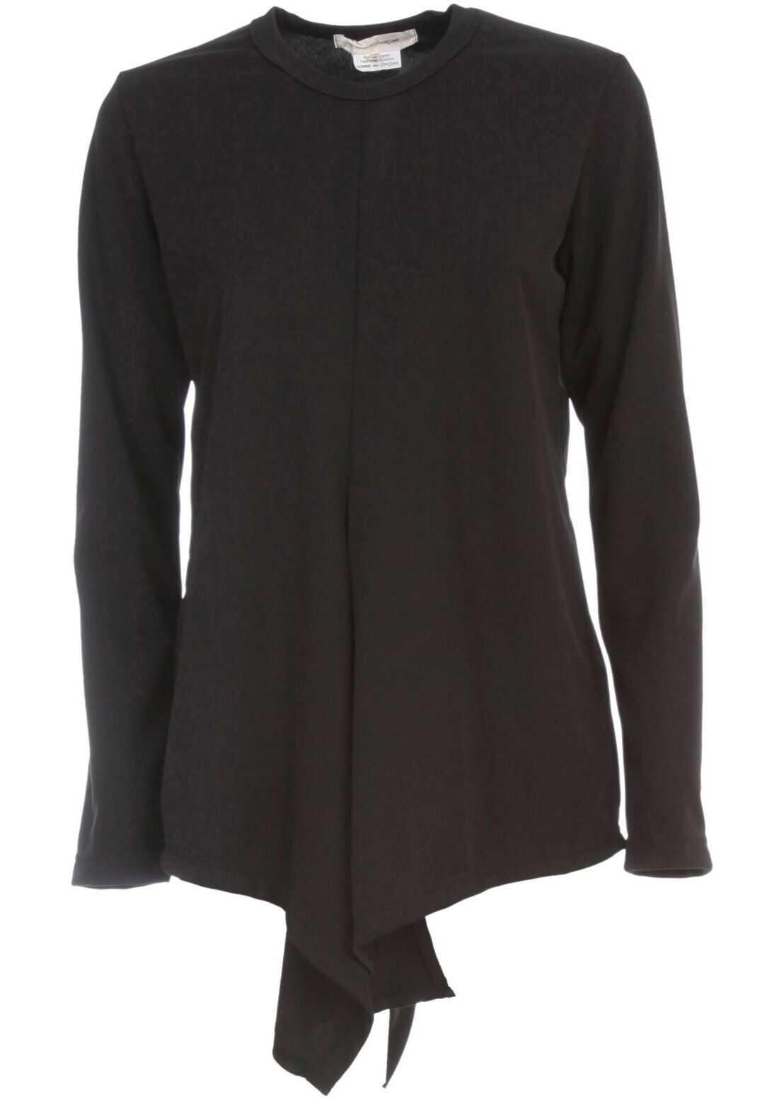 Comme des Garçons Polyester T-Shirt BLACK