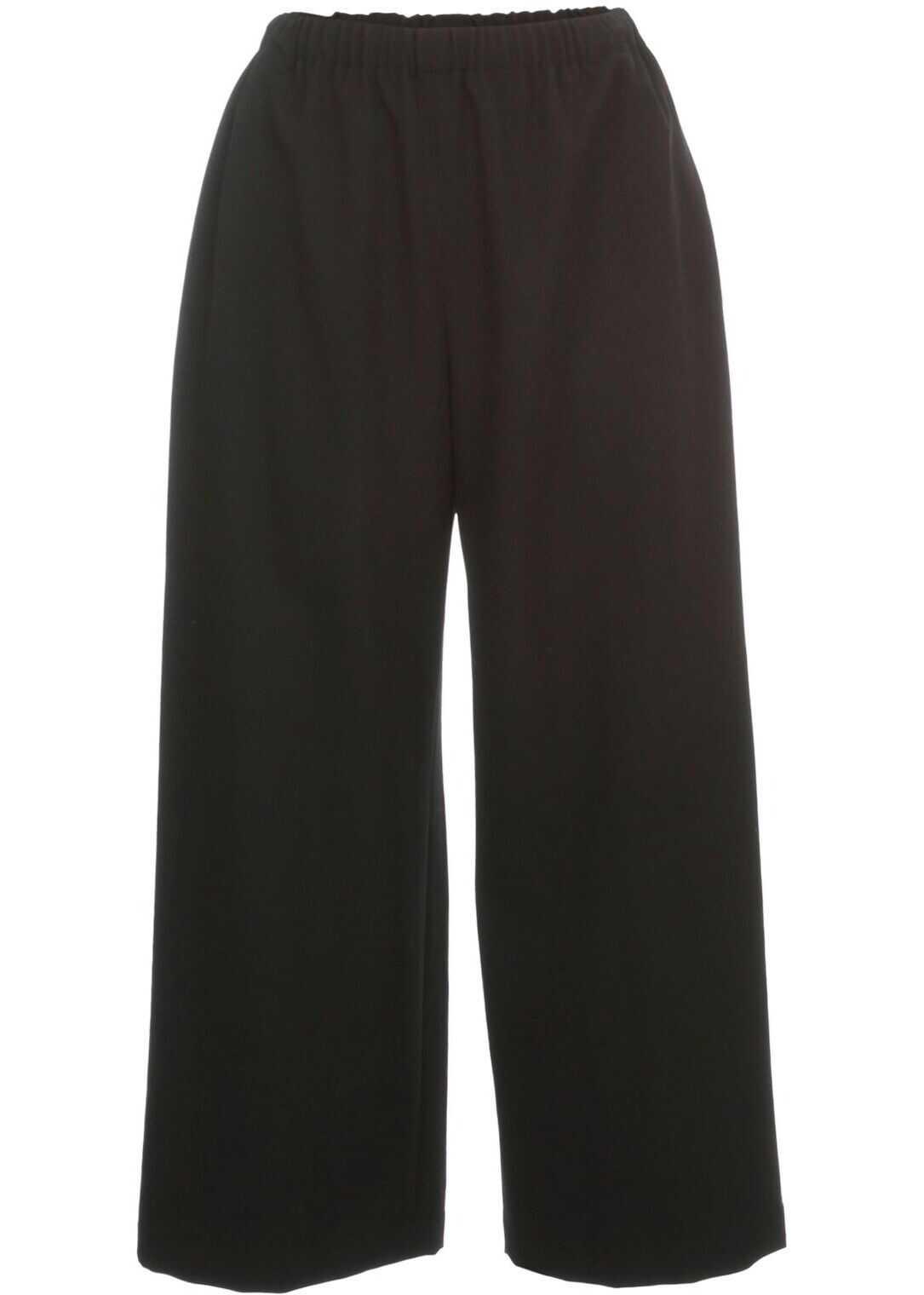 Comme des Garçons Wool Pants BLACK