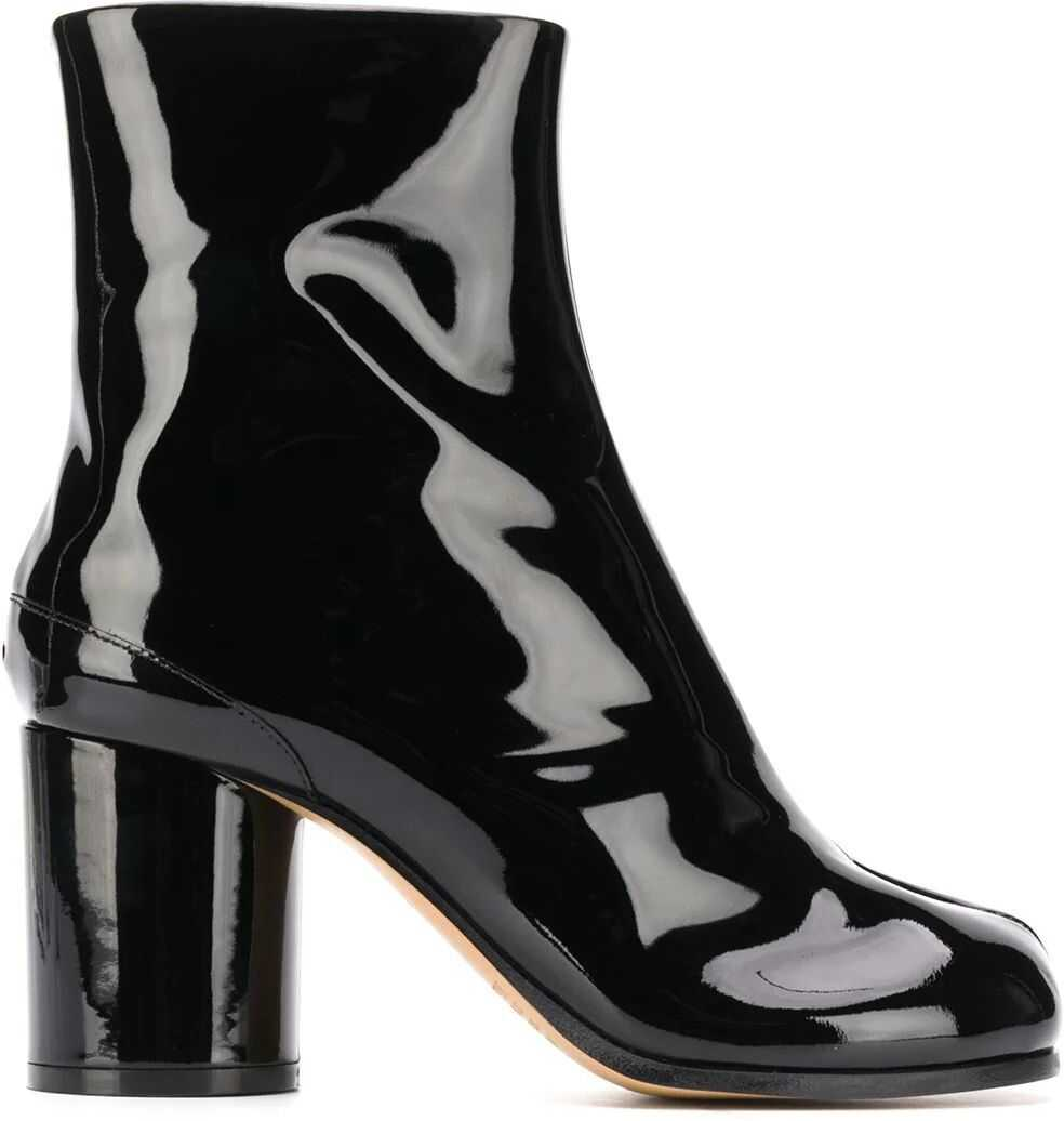 Maison Margiela Leather Ankle Boots BLACK