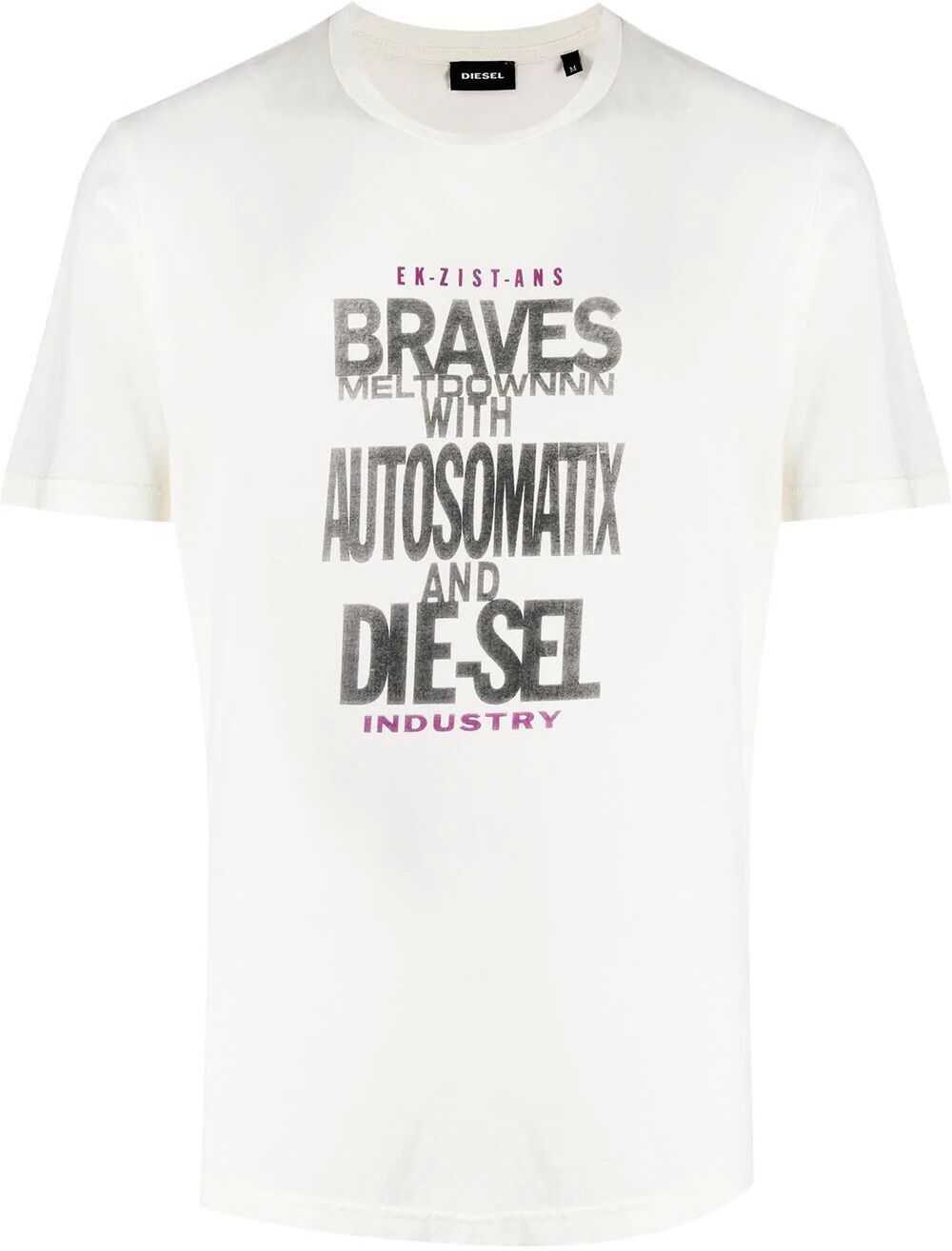 Diesel Cotton T-Shirt WHITE