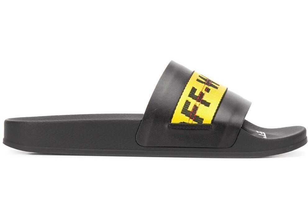 Off-White Pvc Sandals BLACK