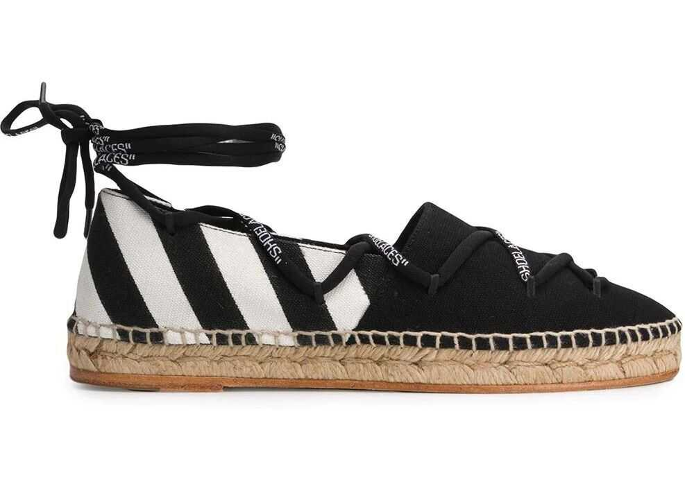 Off-White Fabric Espadrilles BLACK