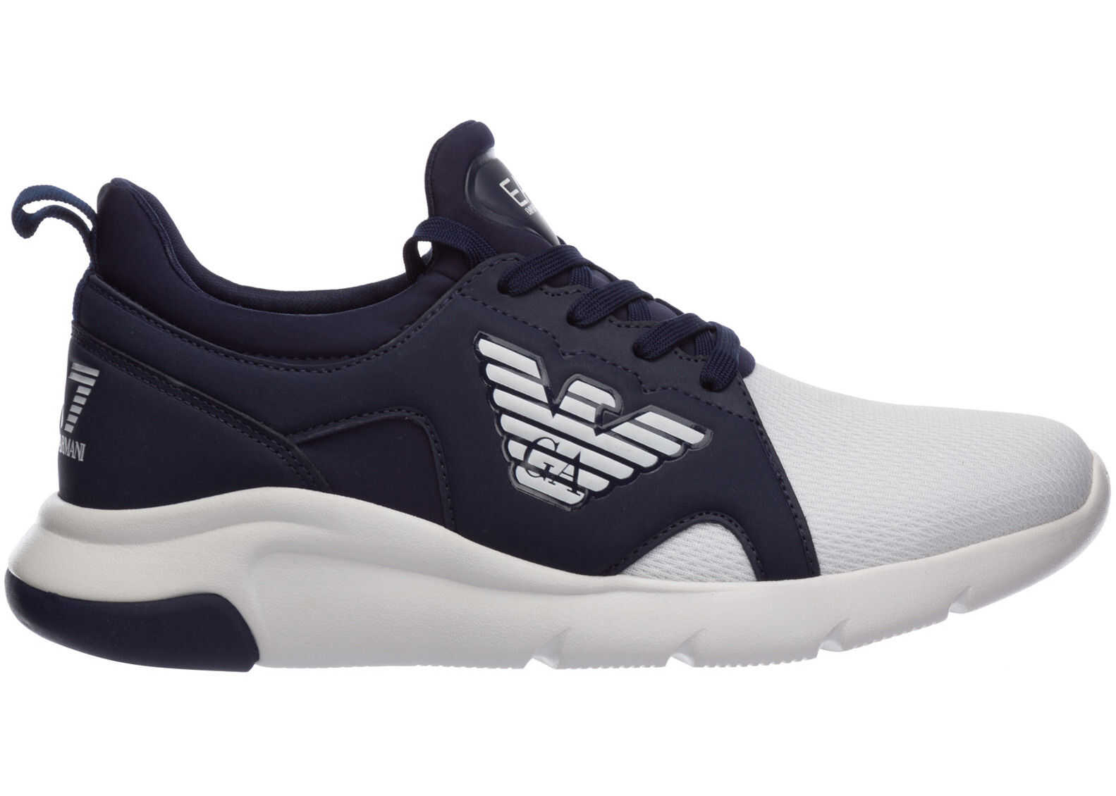 EA7 Trainers Sneakers Blue