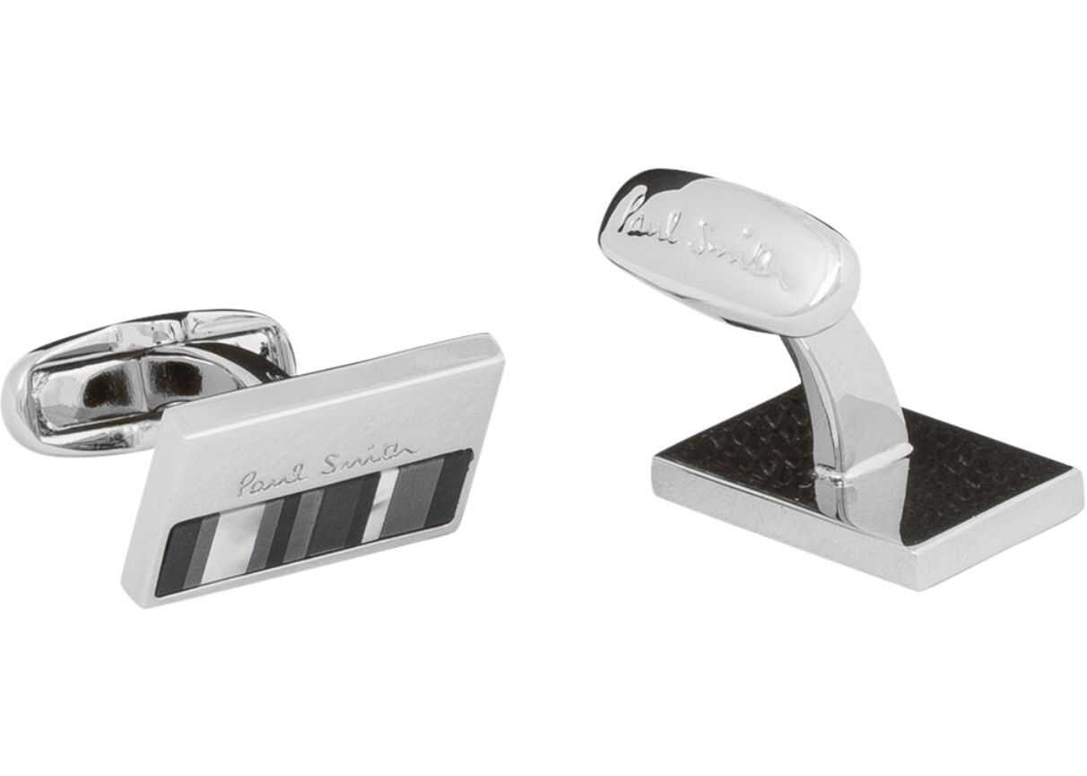 Paul Smith Cufflinks With Logo WHITE