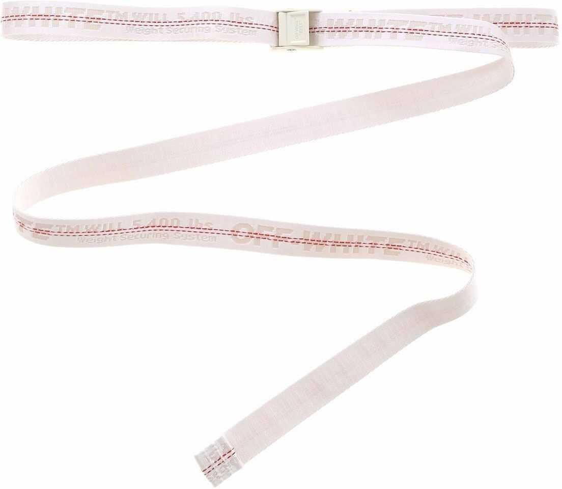 Off-White Industrial Mini Belt In White White