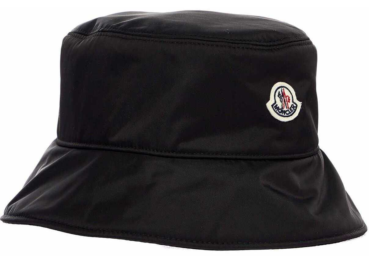 Moncler Heat with logo patch Black