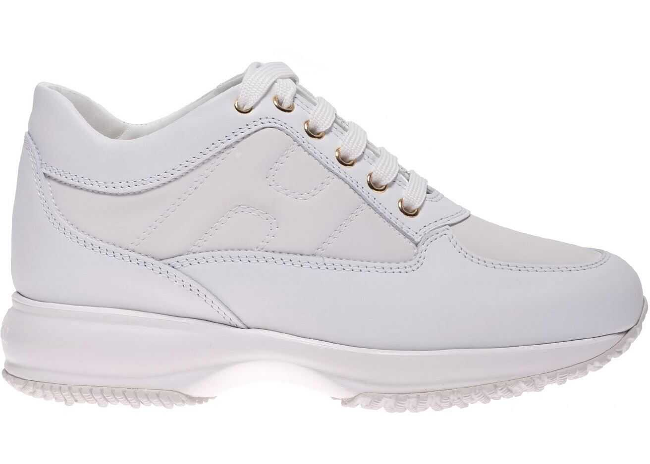 Hogan Interactive Sneakers In White White