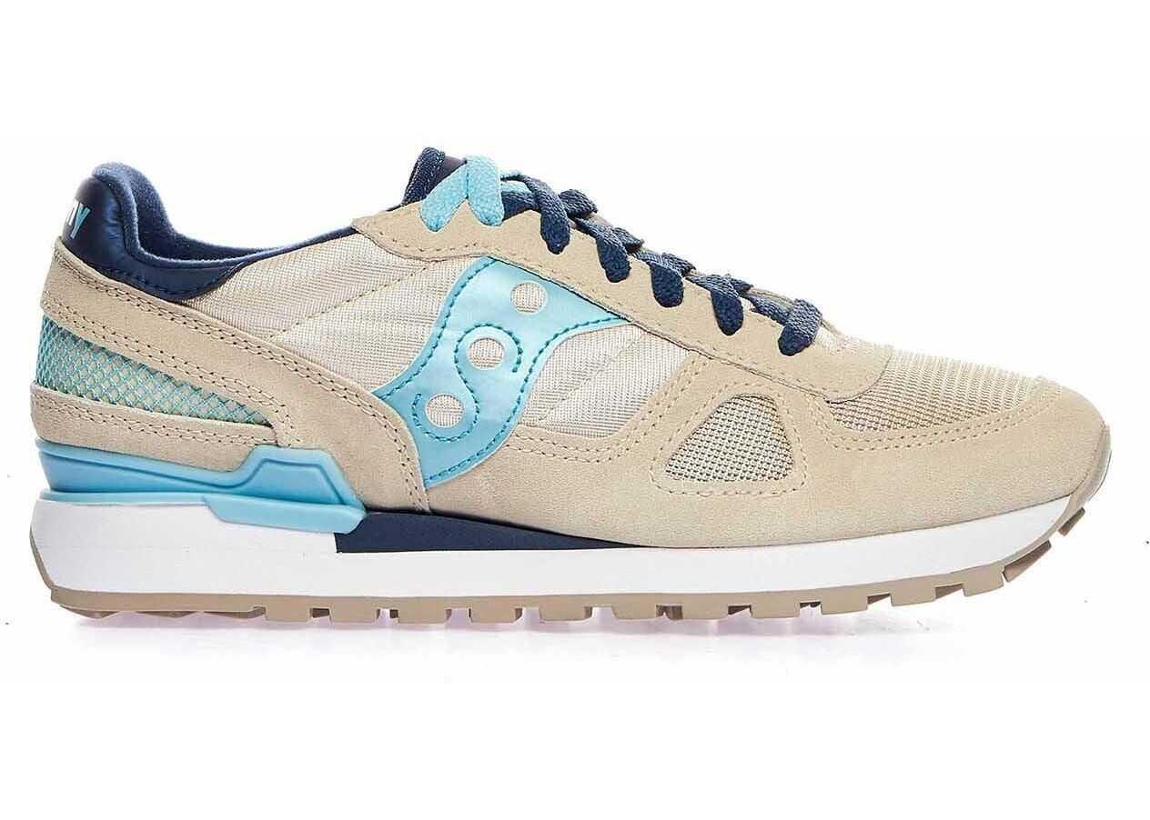 Saucony Suede Sneakers BEIGE