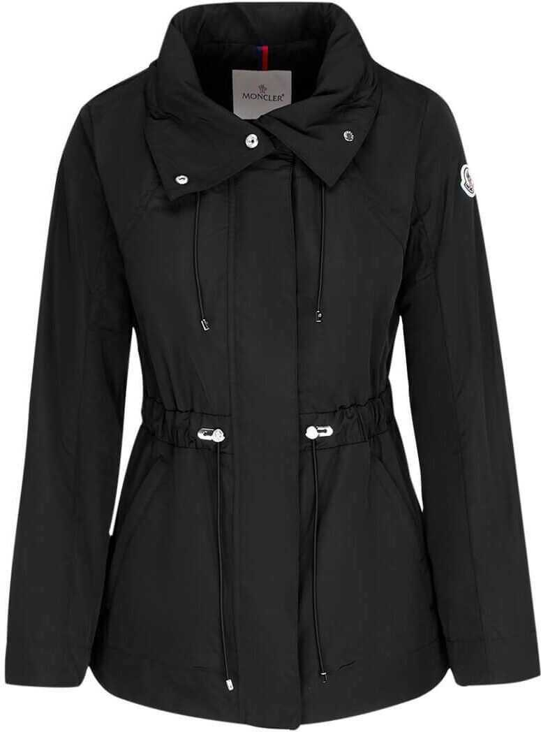 Moncler Polyester Outerwear Jacket BLACK