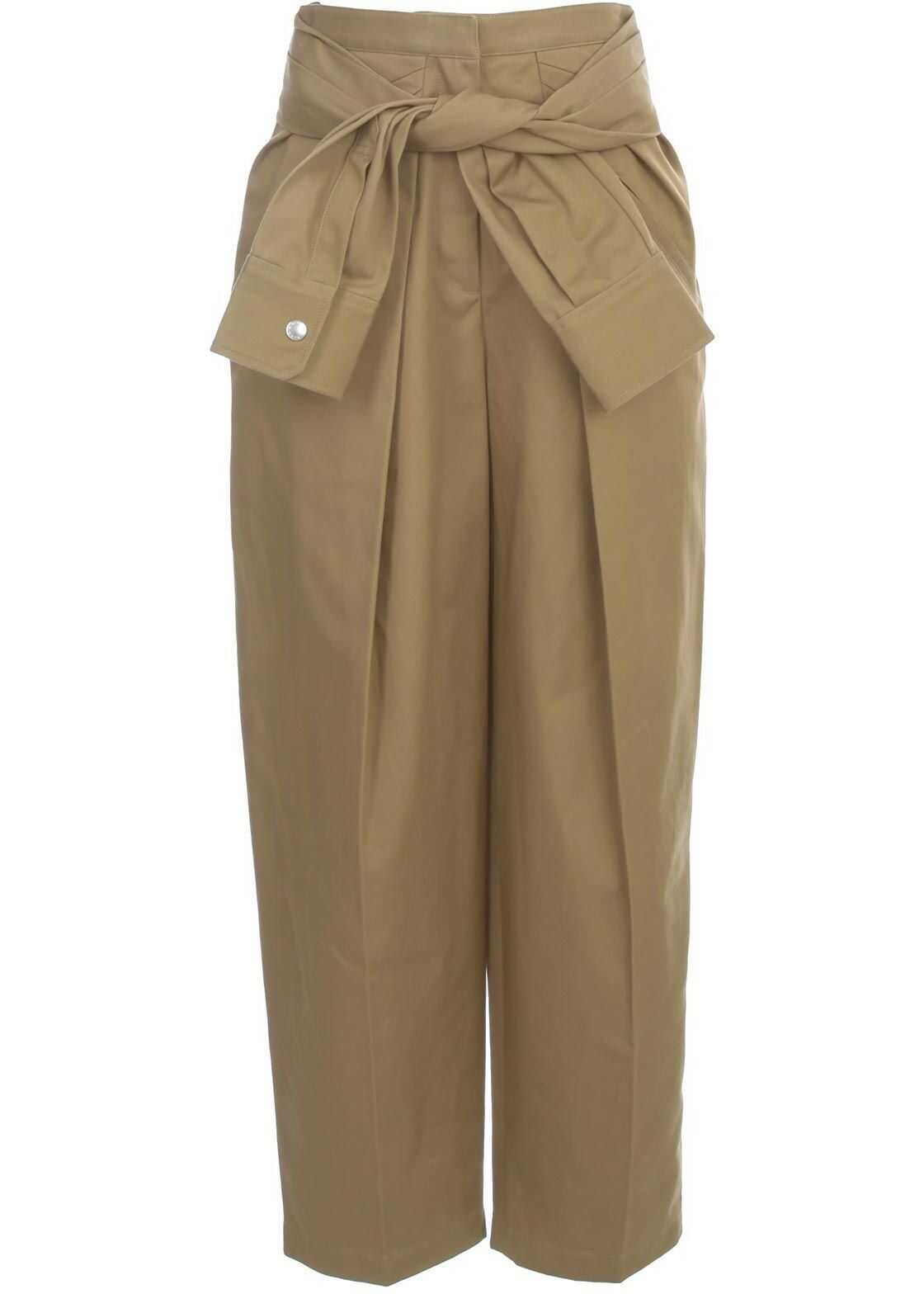 Alexander Wang Cotton Pants BEIGE