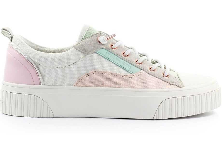Michael Kors Fabric Sneakers WHITE