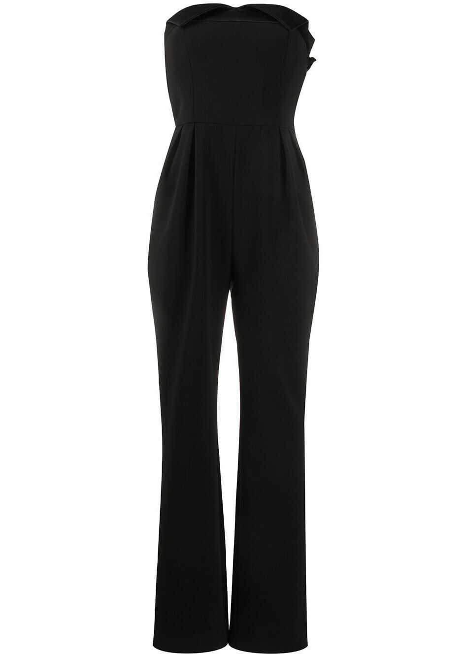 Moschino Polyester Jumpsuit BLACK