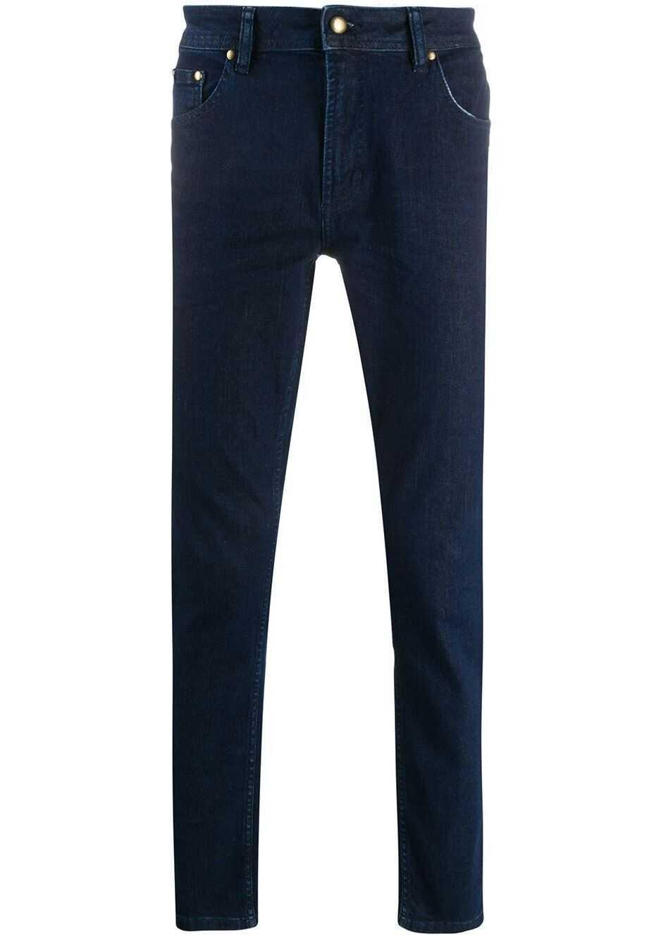 Versace Jeans Cotton Jeans BLUE