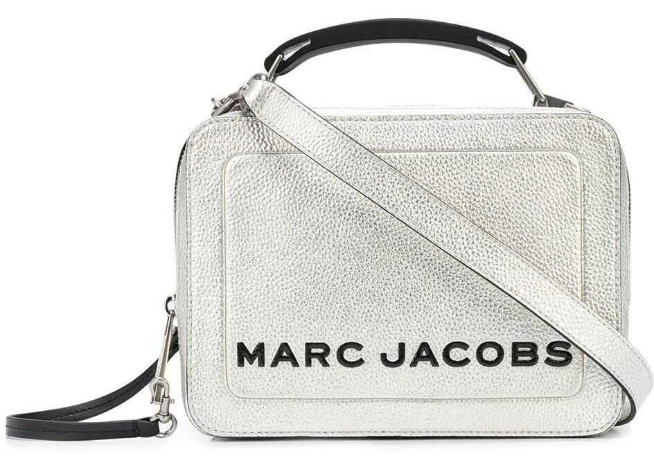Marc Jacobs Leather Handbag SILVER