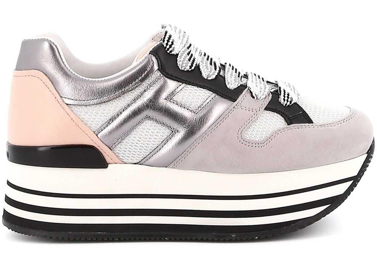 Hogan Maxi H222 Sneakers Grey