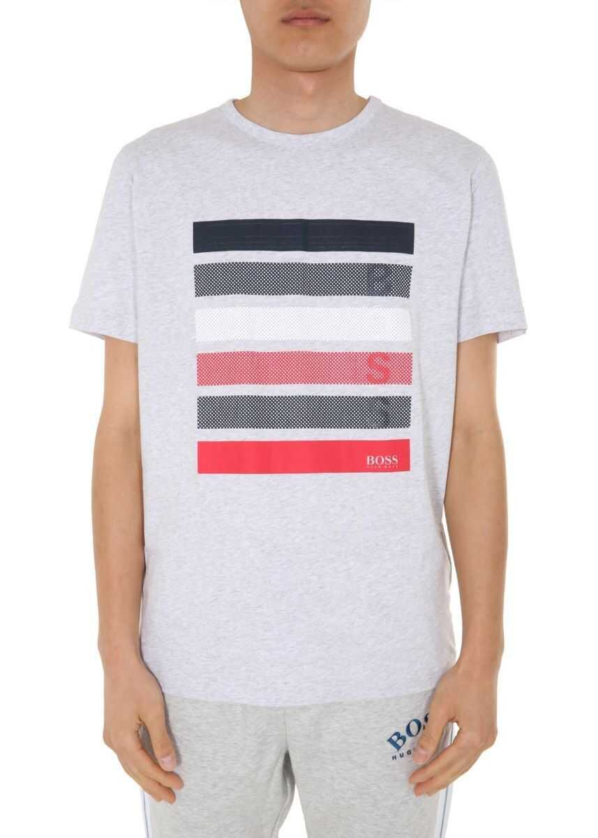 BOSS Hugo Boss Cotton T-Shirt GREY