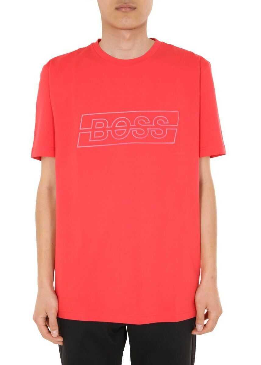 BOSS Hugo Boss Cotton T-Shirt RED