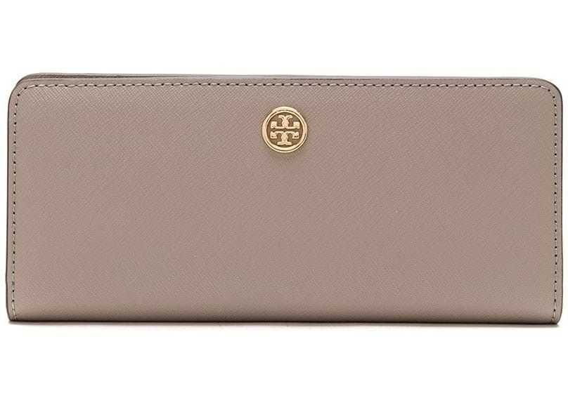 Tory Burch Leather Wallet GREY