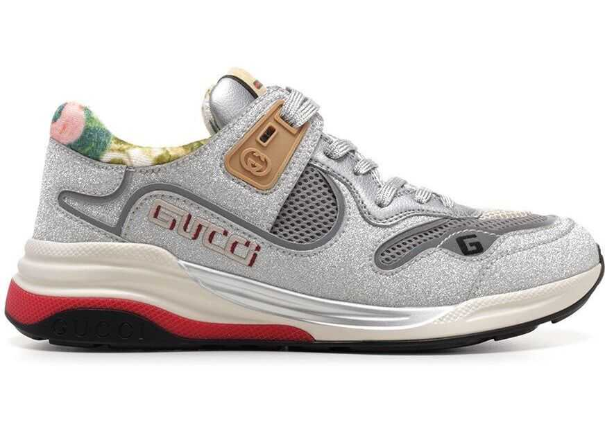 Gucci Polyurethane Sneakers SILVER