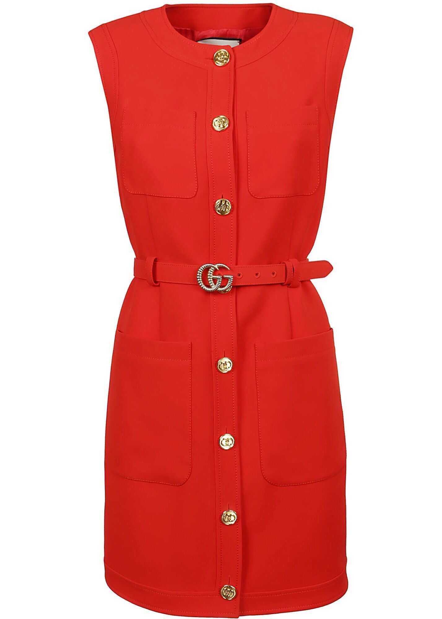 Gucci Silk Vest RED