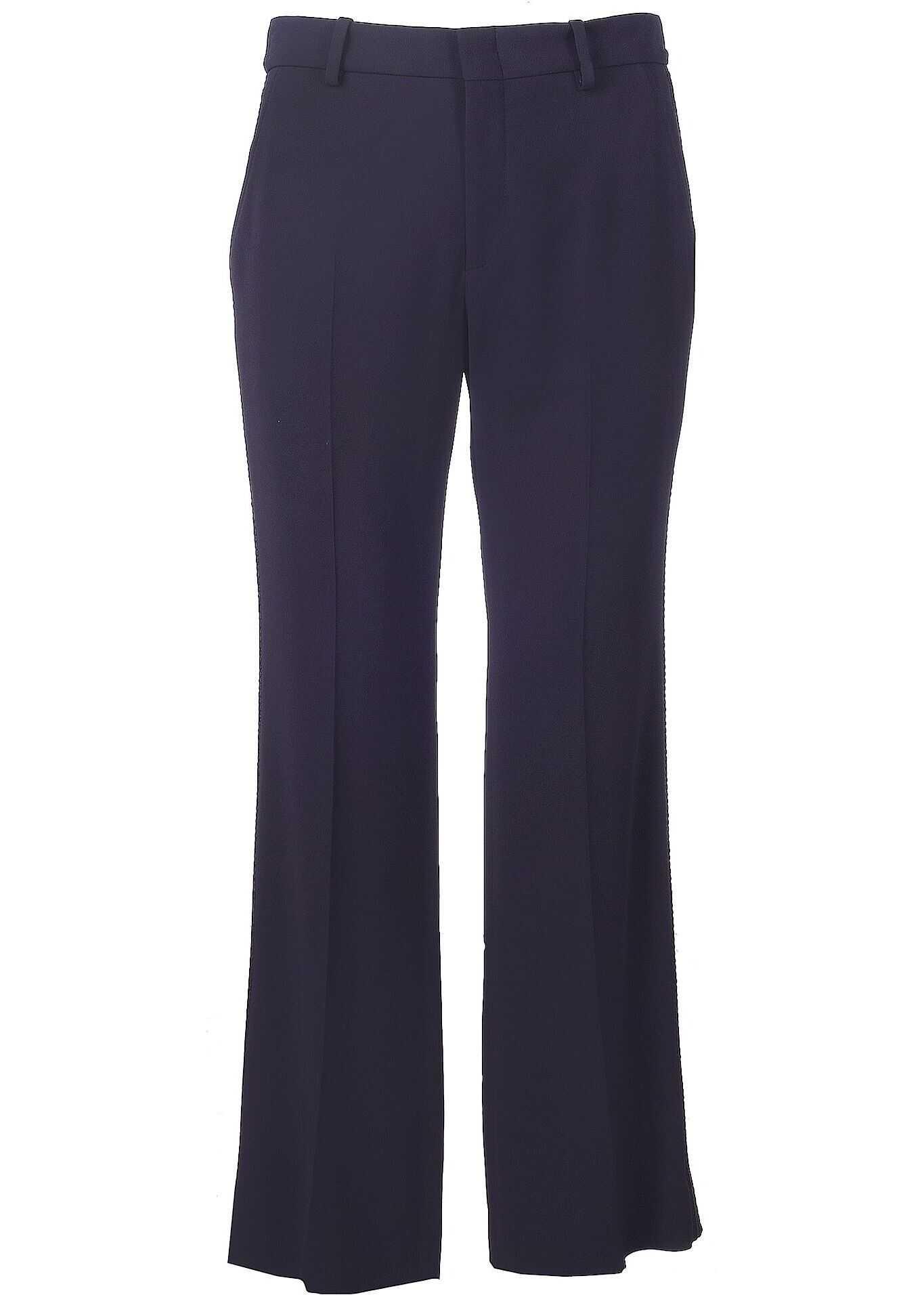Gucci Viscose Pants BLUE