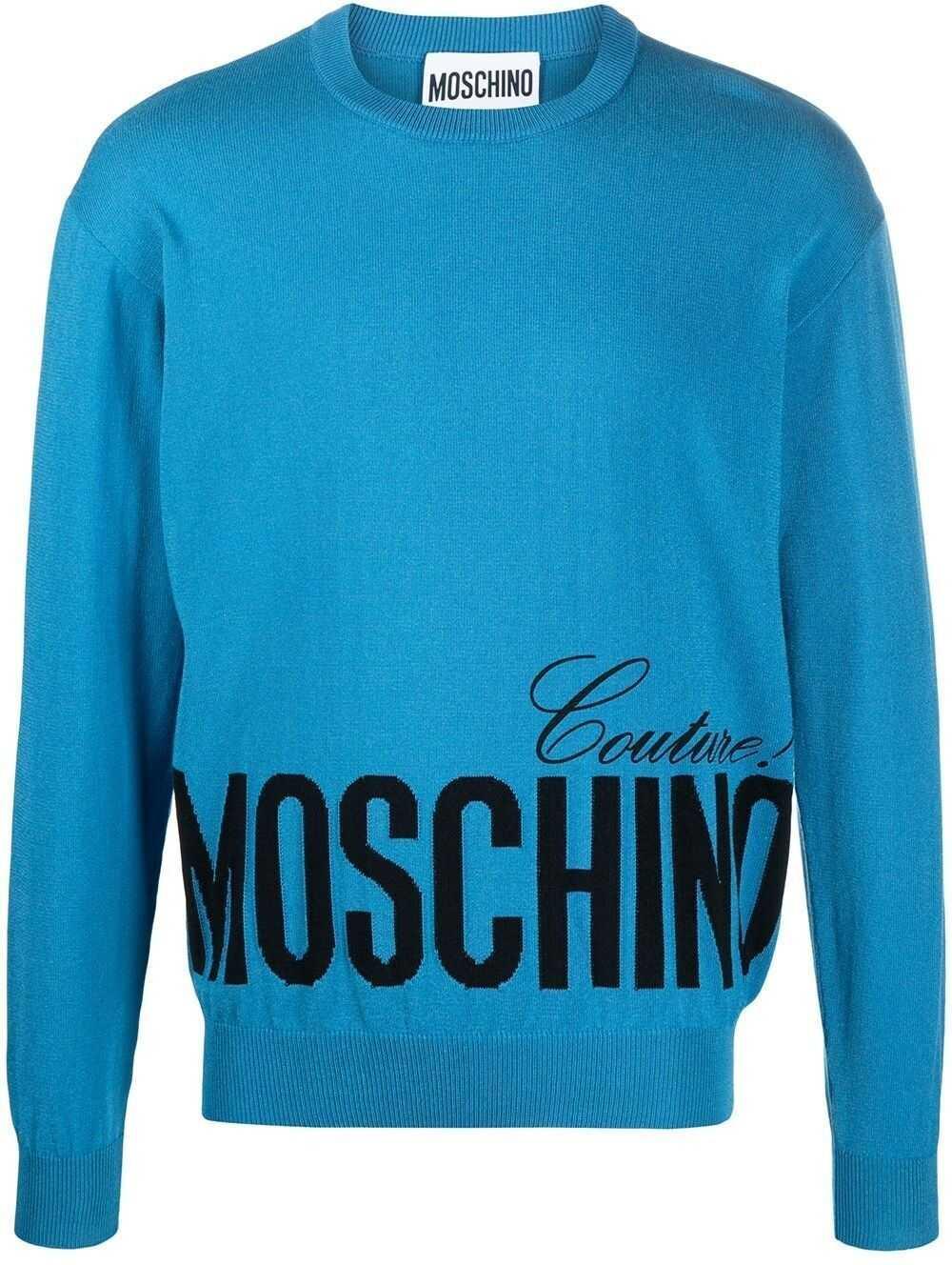 Moschino Cotton Sweater BLUE