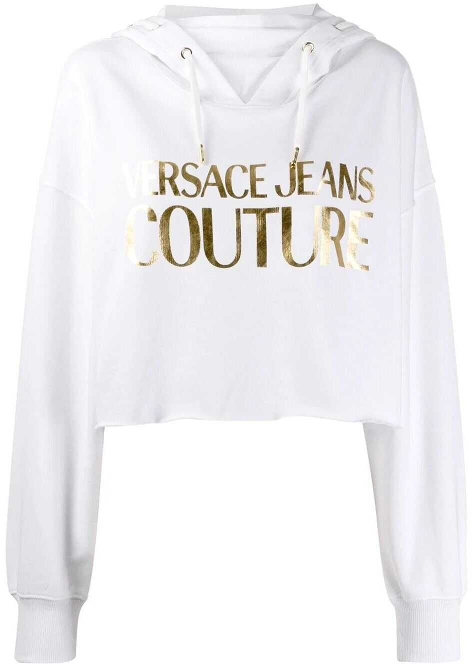 Versace Jeans Cotton Sweatshirt WHITE