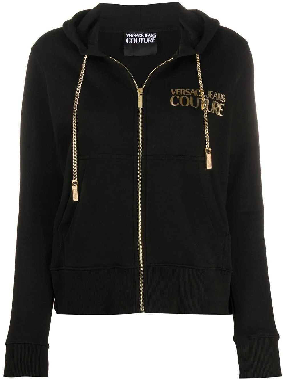 Versace Jeans Cotton Sweatshirt BLACK