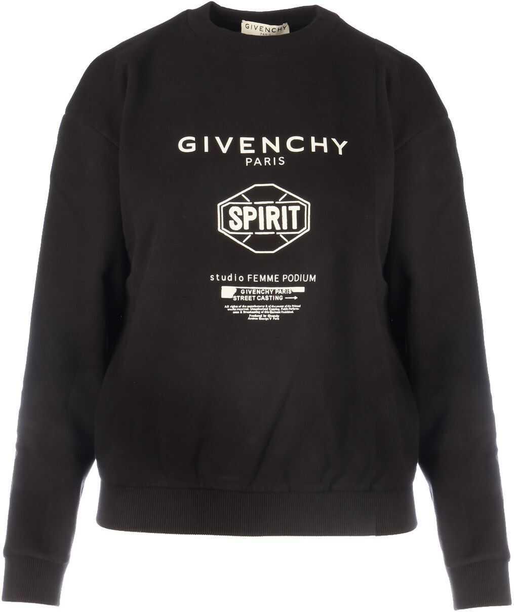 Givenchy Cotton Sweatshirt BLACK