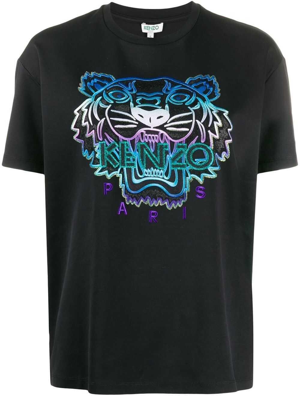 Kenzo Cotton T-Shirt BLACK