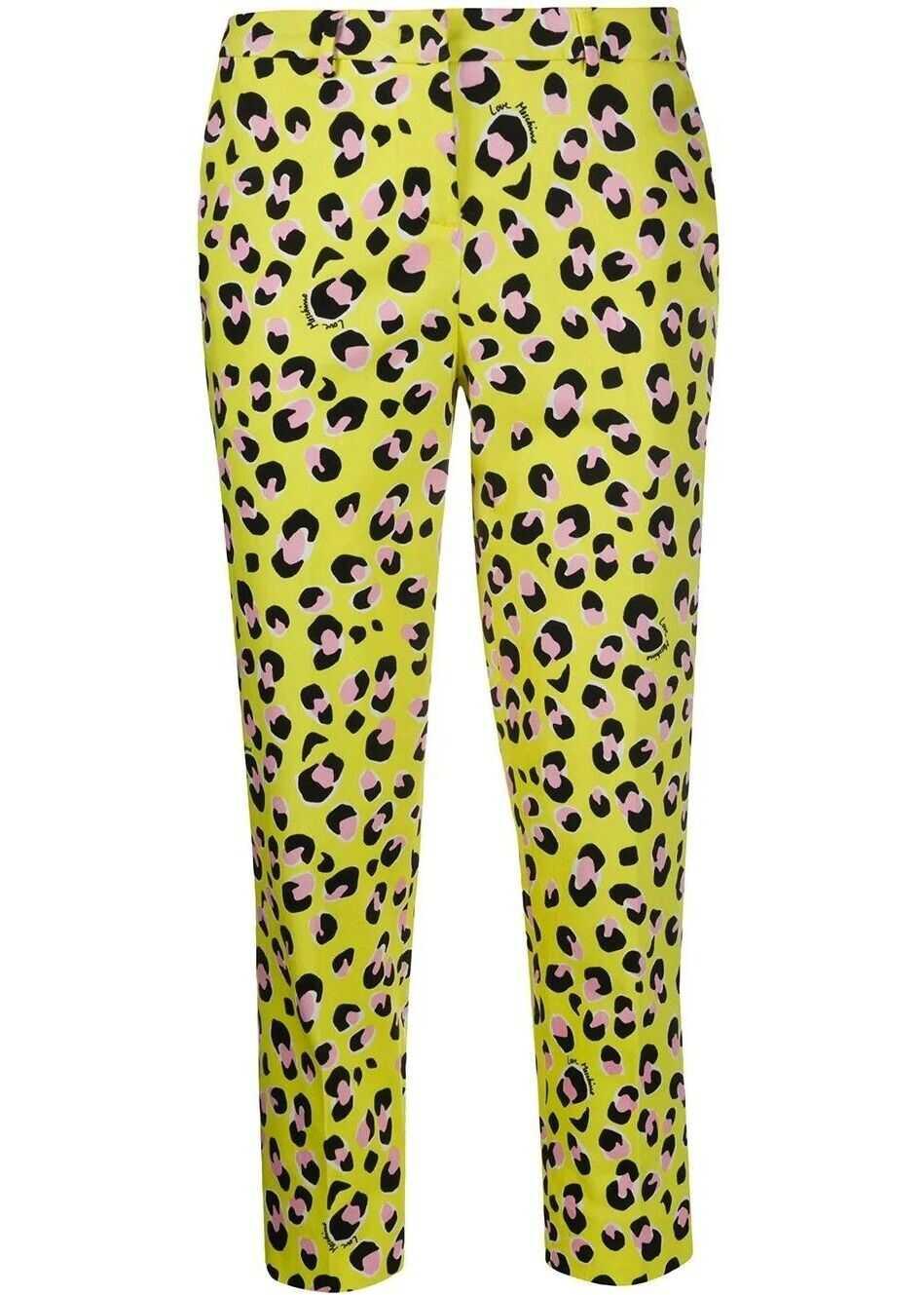 LOVE Moschino Cotton Pants YELLOW