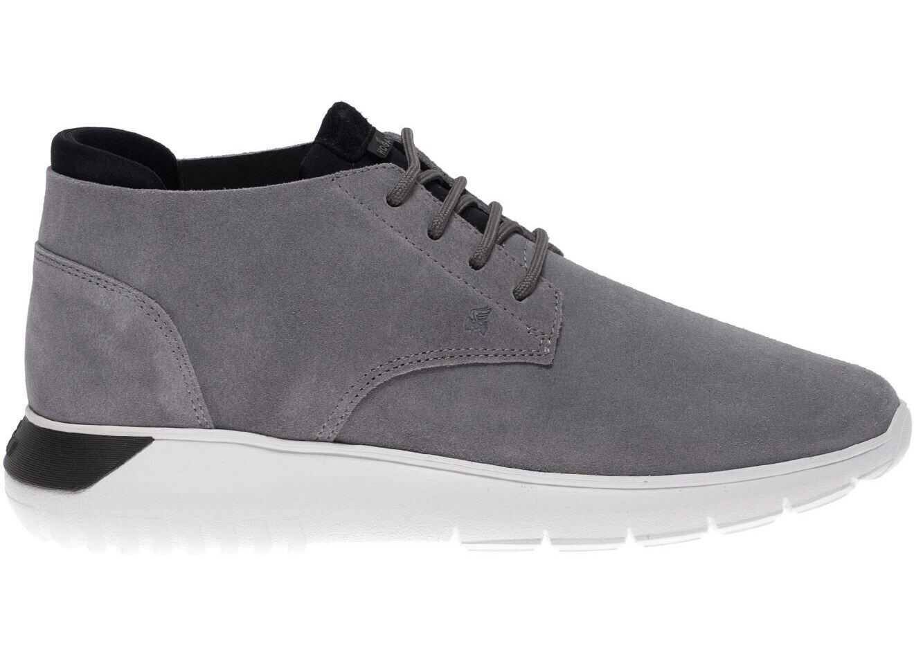 Hogan Interactive³ Sneakers In Grey And Black Grey