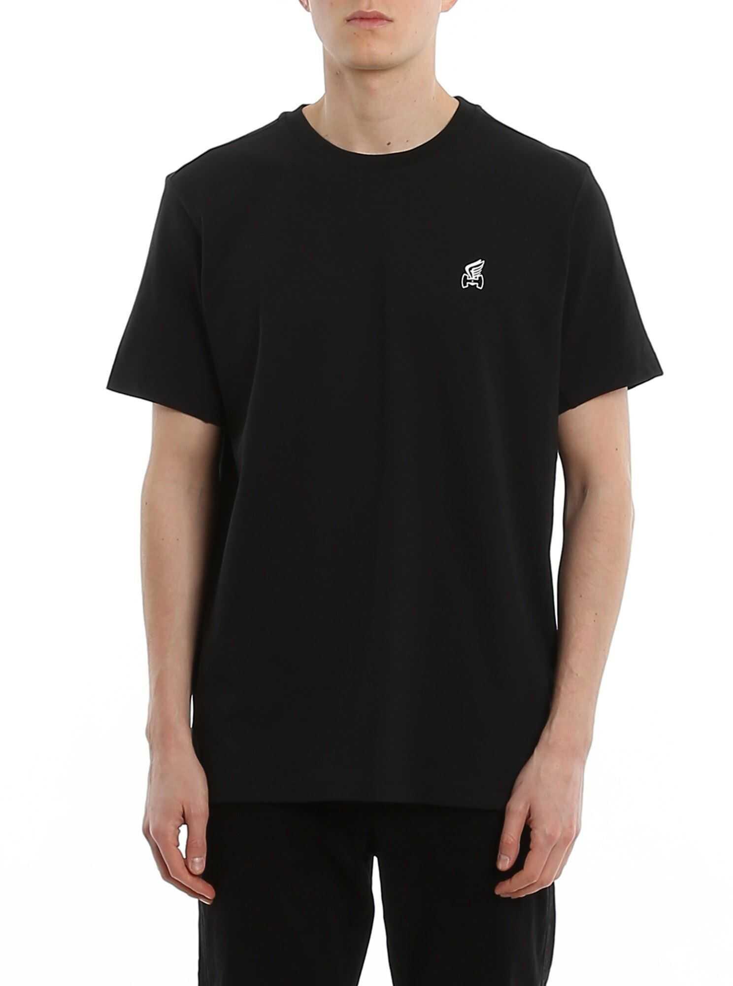 Hogan Logo Regular Fit T-Shirt Black