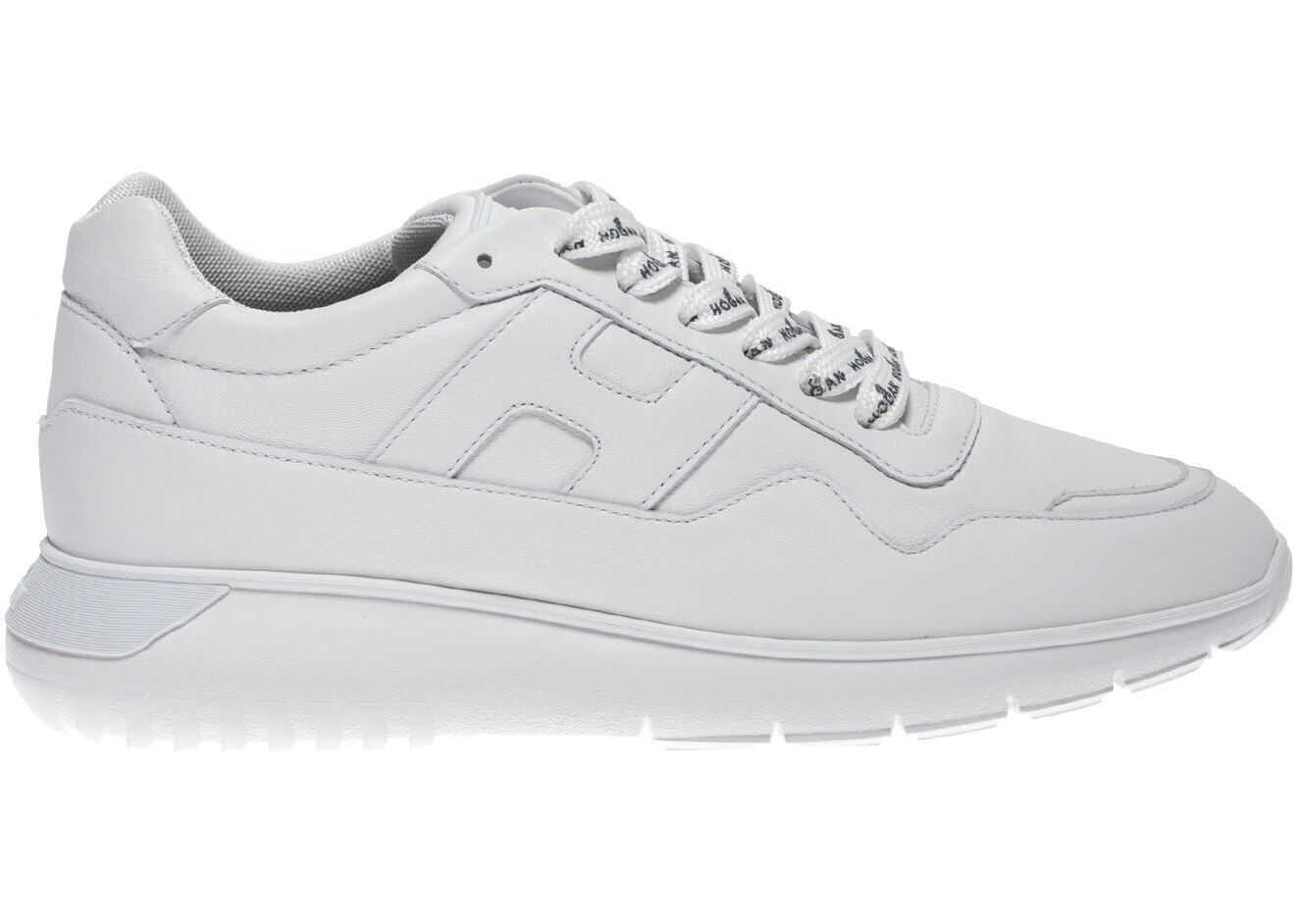 Hogan Interactive Sneakers In White HXM3710CP50LE9B001 White imagine b-mall.ro