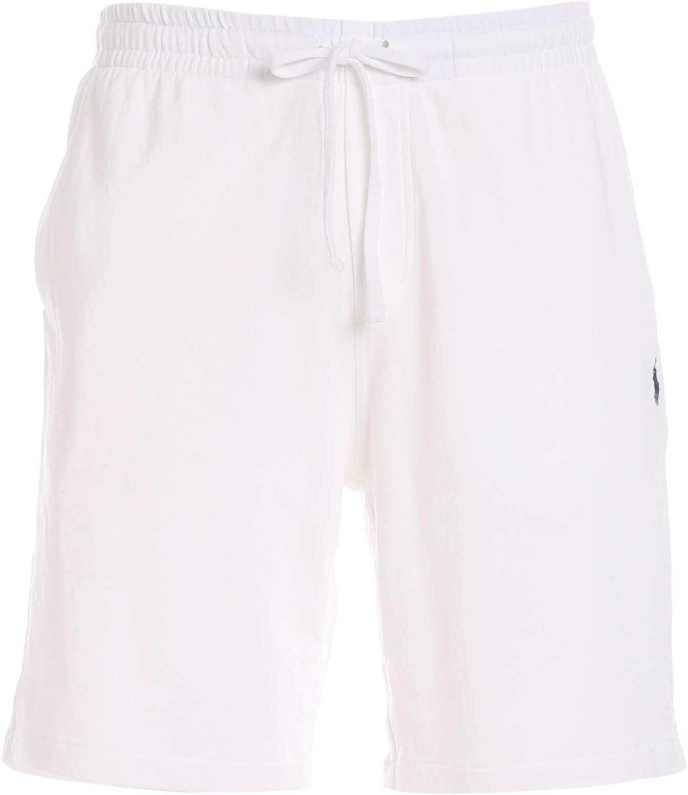 Ralph Lauren Cotton Shorts White imagine