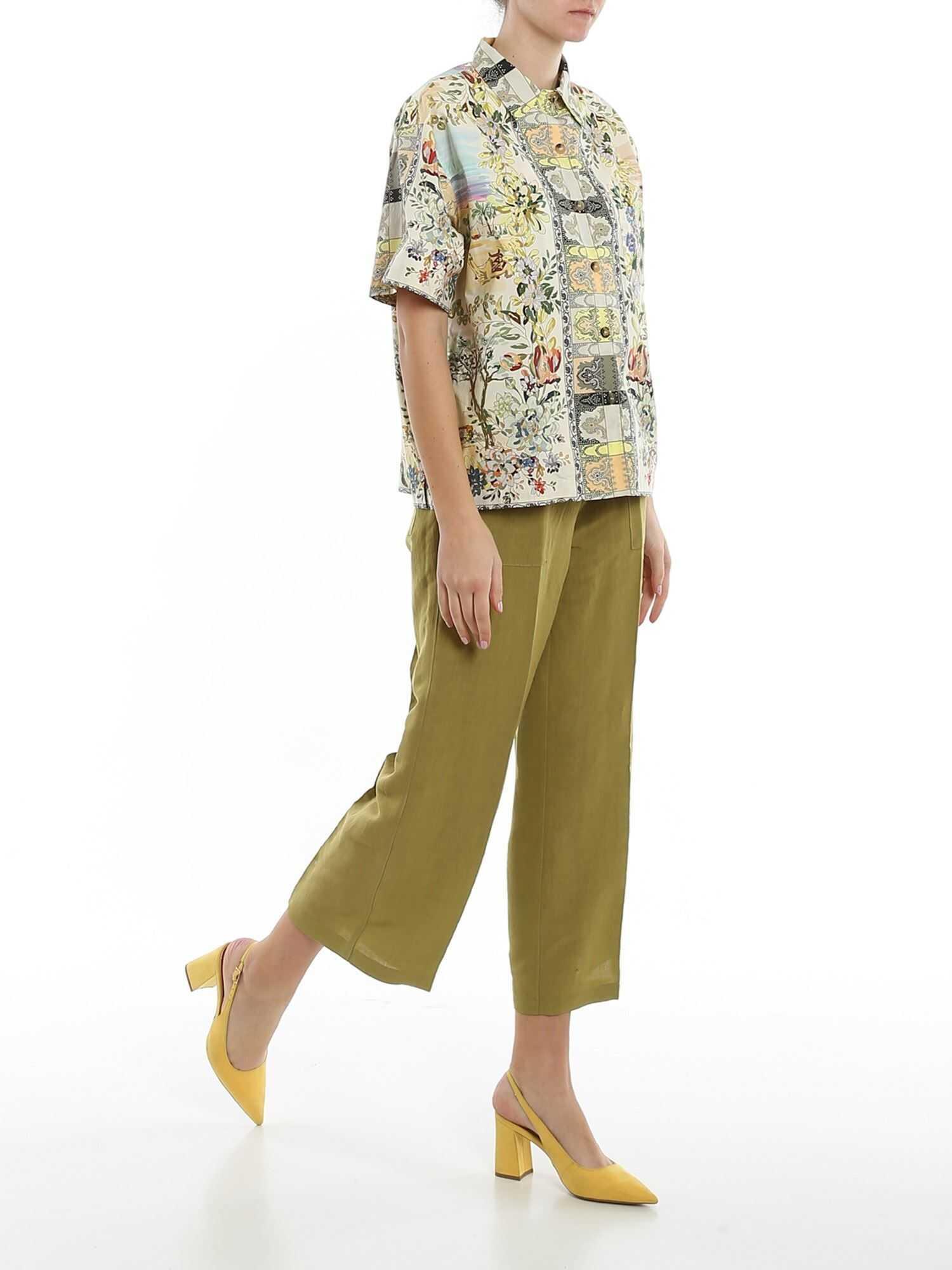 ETRO Desert Mirages Printed Shirt Multi