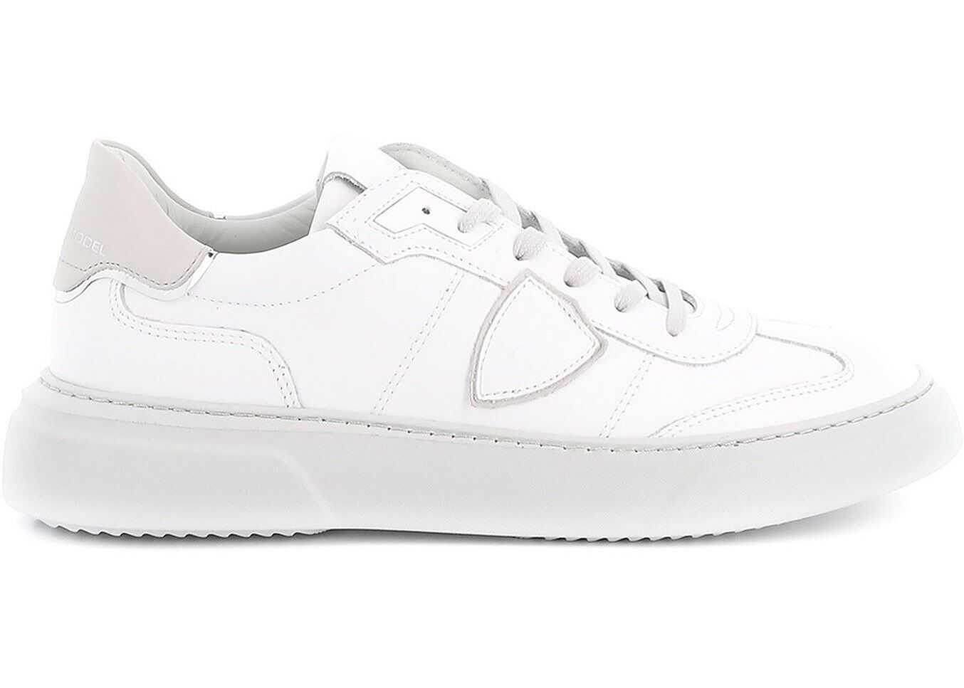 Philippe Model Temple S Sneakers White