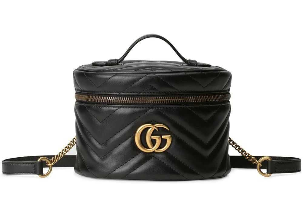 Gucci Leather Backpack BLACK