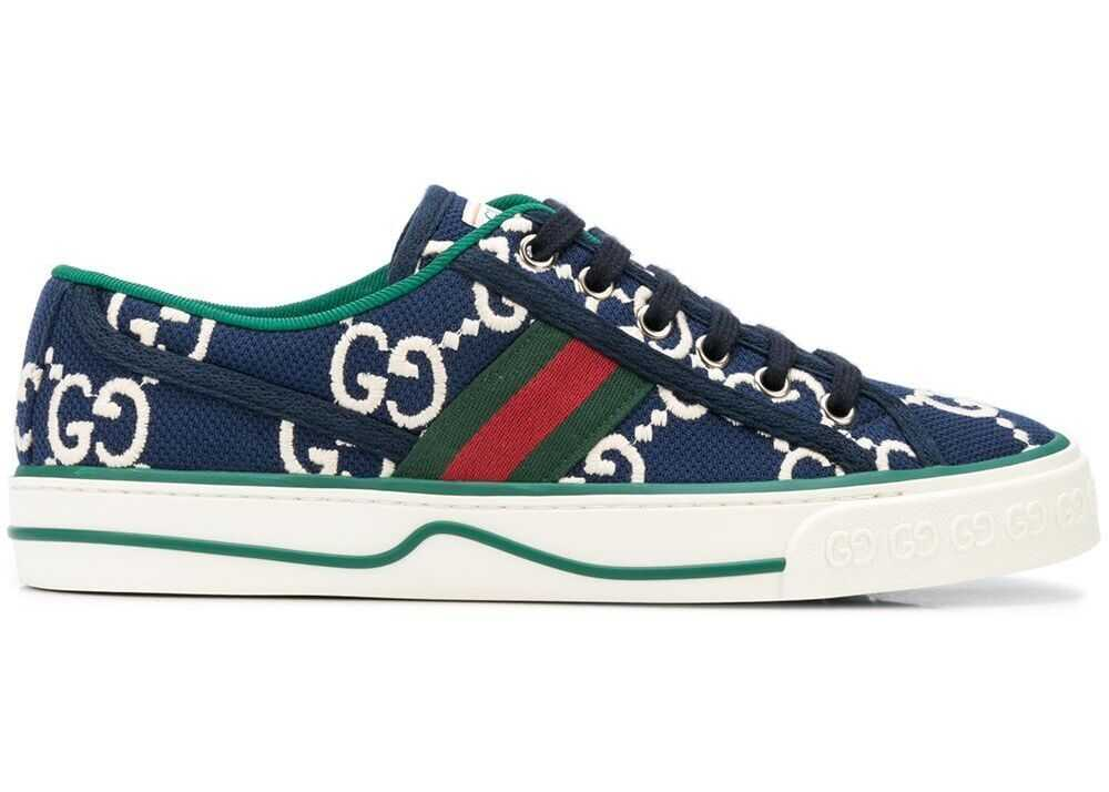 Gucci Cotton Sneakers BLUE