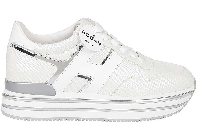 Hogan H468 White Sneakers White