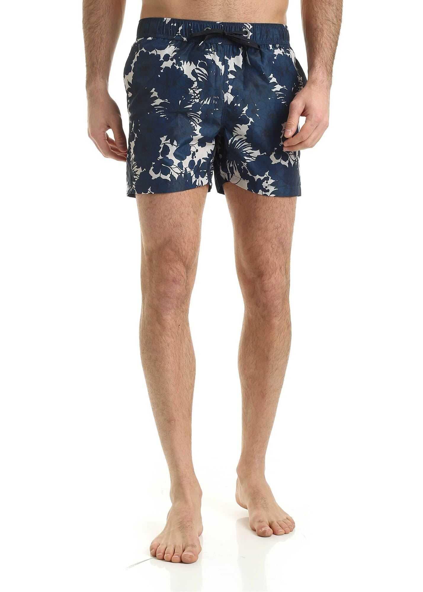 RRD Roberto Ricci Designs Tramontana Hawaii Swimsuit In Blue Blue