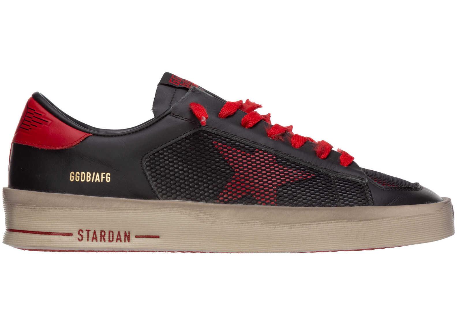 Golden Goose Sneakers Stardan Black