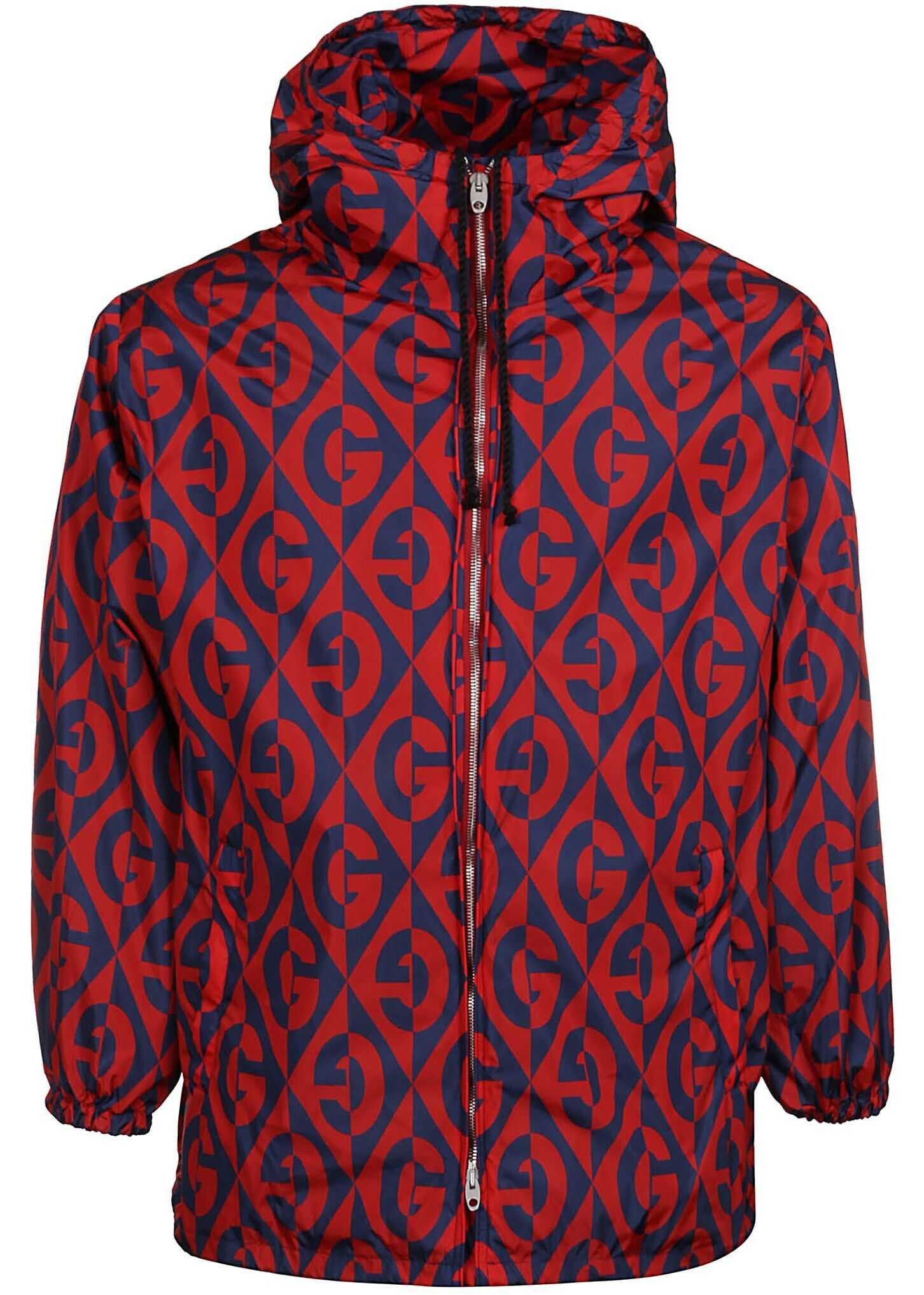 Gucci Polyamide Outerwear Jacket RED