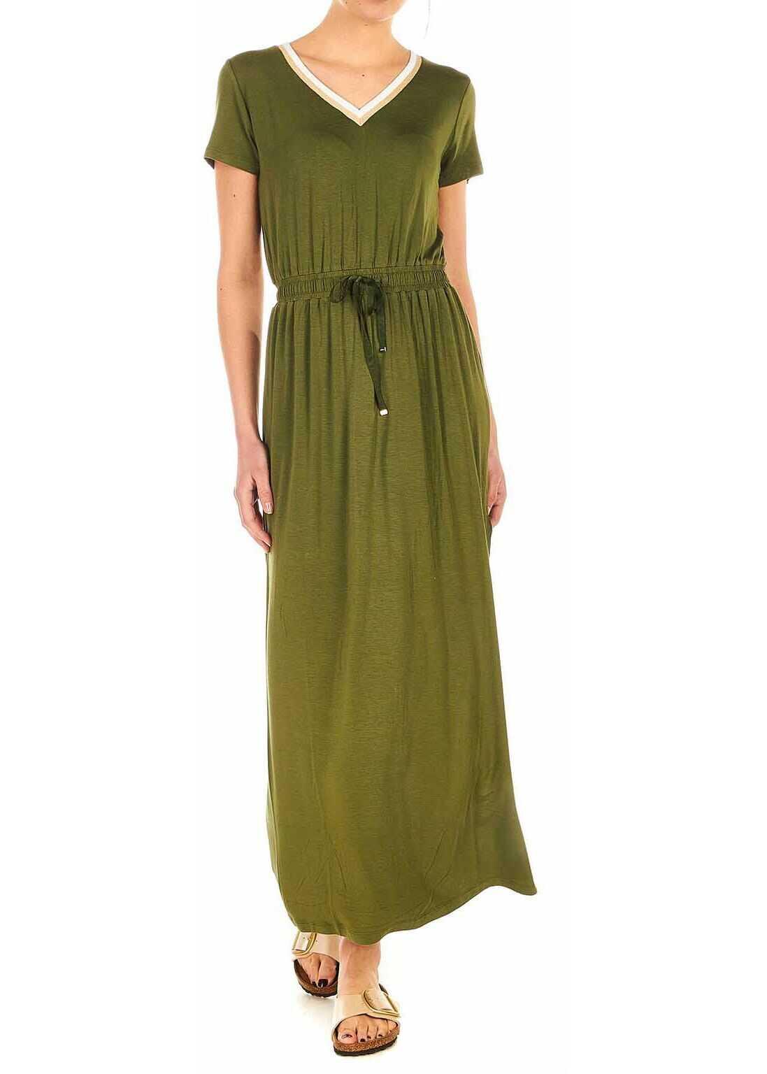 Liu Jo Jersey dress Green