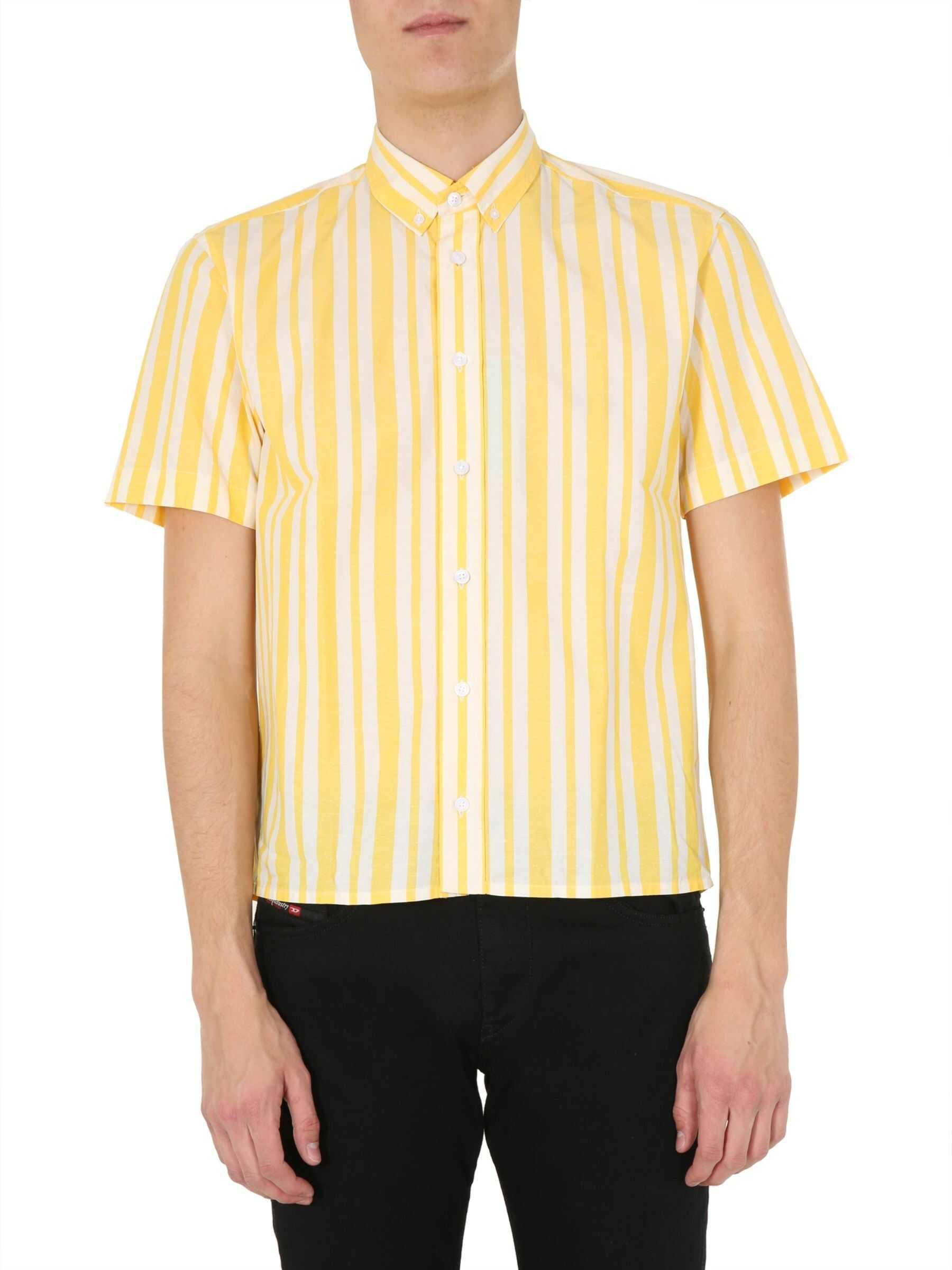 Kenzo Short Sleeve Shirt YELLOW