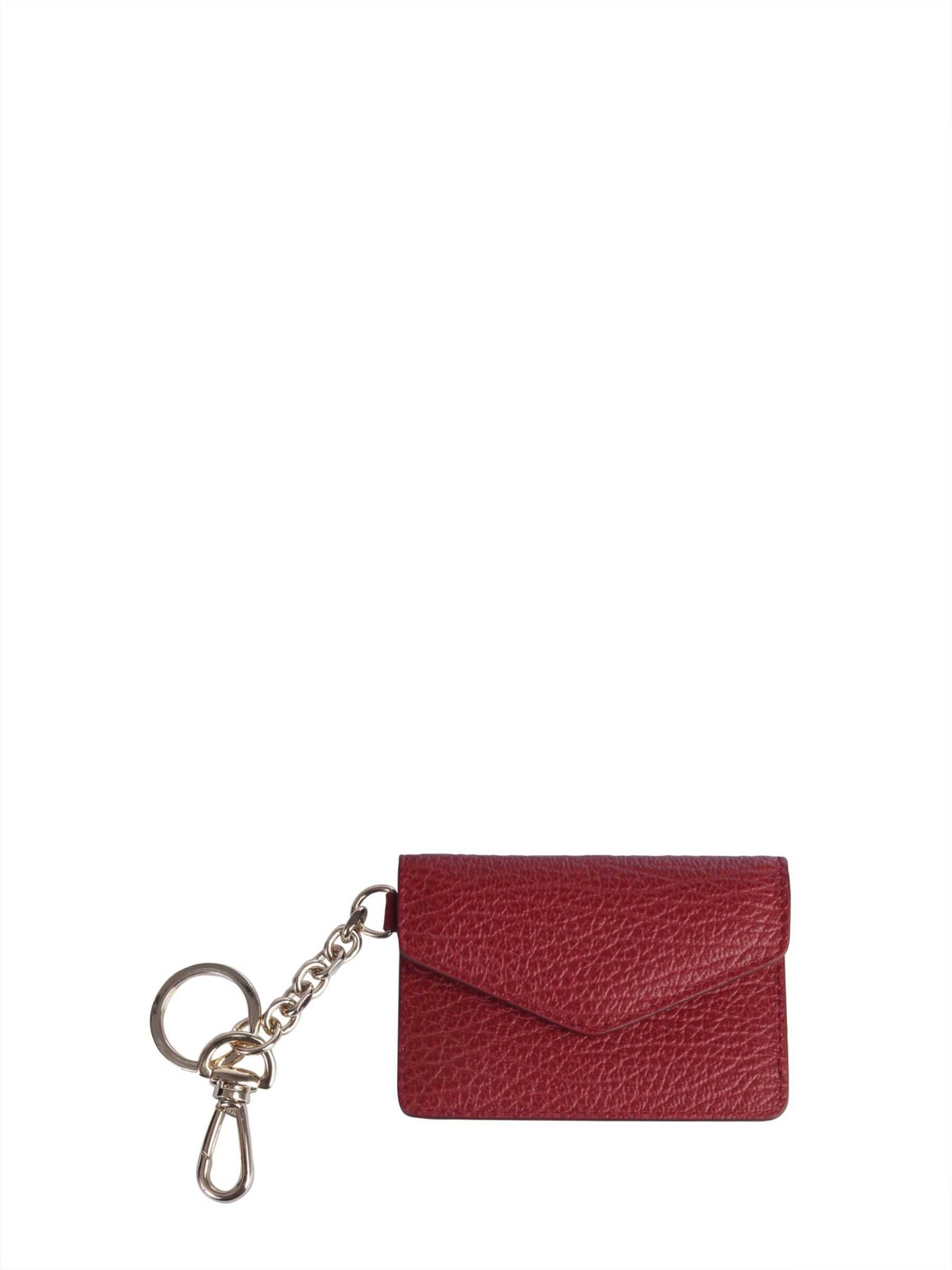 Maison Margiela Wallet With Keyring RED