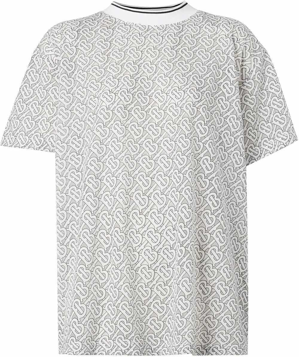 Burberry Cotton T-Shirt WHITE
